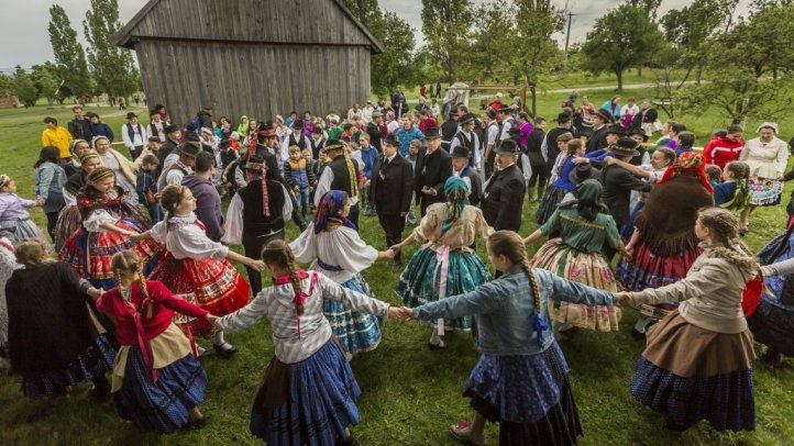 Traditions introduced by the Hungarian Open Air Museum of Szentendre
